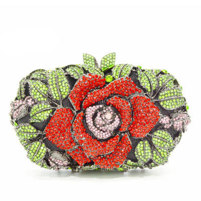 Clutches Wedding/Ceremony & Party Alloy Twist-lock closure Gorgeous Clutches & Evening Bags (012188123)