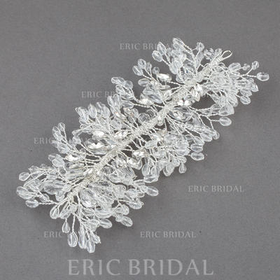 "Headbands Wedding/Special Occasion/Casual/Outdoor/Party Crystal/Alloy 5.71""(Approx.14.5cm) 2.76""(Approx.7cm) Headpieces (042155743)"
