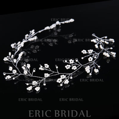 Headbands Wedding/Special Occasion/Party/Carnival Crystal/Alloy/Imitation Pearls Glamourous (Sold in single piece) Headpieces (042158974)