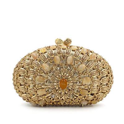"""Clutches/Luxury Clutches Wedding/Ceremony & Party Crystal/ Rhinestone Gorgeous 7.48""""(Approx.19cm) Clutches & Evening Bags (012186942)"""