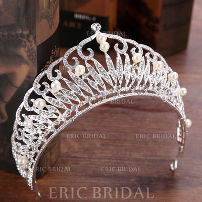 "Tiaras Wedding/Party Rhinestone/Alloy 5.91""(Approx.15cm) 2.76""(Approx.7cm) Headpieces (042158738)"