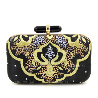 "Clutches Wedding/Ceremony & Party Crystal/ Rhinestone Elegant 7.87""(Approx.20cm) Clutches & Evening Bags (012188112)"