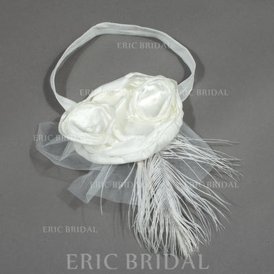 """Headbands Wedding/Special Occasion/Party Satin/Tulle 5.53""""(Approx.14cm) 6.69""""(Approx.17cm) Headpieces (042156313)"""