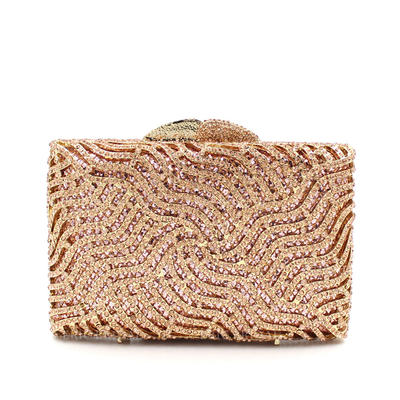 """Clutches/Satchel Wedding/Ceremony & Party Alloy Shining 6.3""""(Approx.16cm) Clutches & Evening Bags (012187306)"""