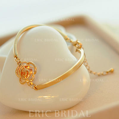 "Bracelets Alloy Ladies' Gorgeous 0.59 ""(Approx.1.5cm) Wedding & Party Jewelry (011166639)"
