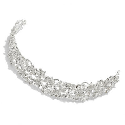 """Tiaras Wedding/Special Occasion Alloy 1.18""""(Approx.3cm) 5.90""""(Approx.15cm) Headpieces (042152571)"""