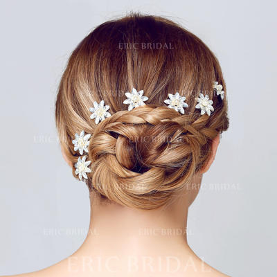 "Hairpins Wedding/Special Occasion/Casual/Art photography Rhinestone/Alloy 2.95""(Approx.7.5cm) 1.38""(Approx.3.5cm) Headpieces (042156201)"