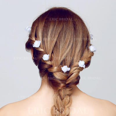"Hairpins Wedding/Outdoor/Party/Art photography Alloy/Fabric 3.15""(Approx.8cm) 0.98""(Approx.2.5cm) Headpieces (042156198)"