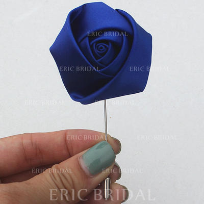 "Boutonniere Free-Form Wedding/Party Satin 1.97""(Approx.5cm) Wedding Flowers (123190118)"