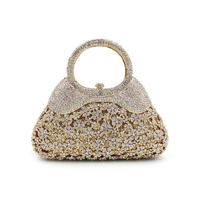 """Clutches/Luxury Clutches Wedding/Ceremony & Party Crystal/ Rhinestone Gorgeous 7.09""""(Approx.18cm) Clutches & Evening Bags (012186939)"""