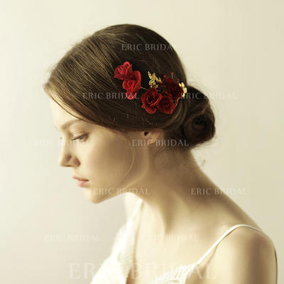 "Hairpins Wedding/Special Occasion/Party/Art photography Alloy 5.12""(Approx.13cm) 2.37""(Approx.6cm) Headpieces (042159345)"