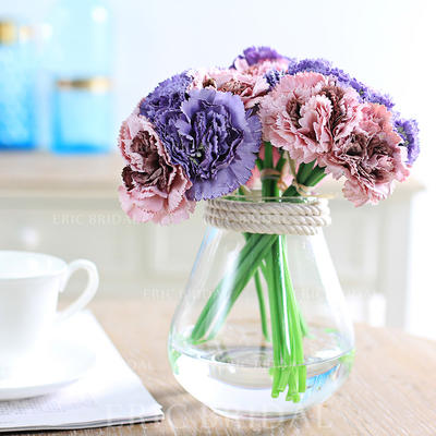 """Bridal Bouquets/Decorations Party/Casual Artificial Silk 9.06""""(Approx.23cm) 4.72"""" (Approx.12cm) Wedding Flowers (123189304)"""
