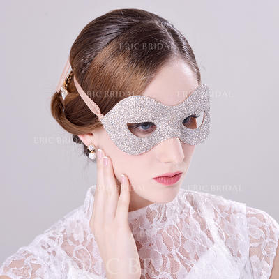 """Masks Special Occasion/Party Rhinestone/Alloy 9.06""""(Approx.23cm) 3.94""""(Approx.10cm) Headpieces (042154801)"""