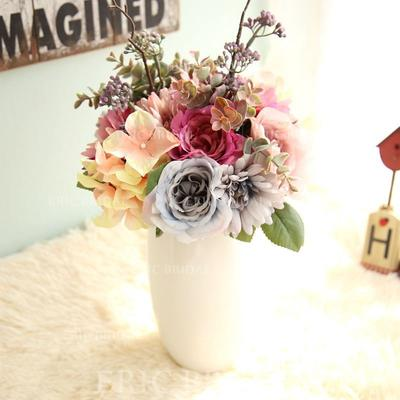 "Bridal Bouquets Free-Form Wedding/Party/Casual Satin 12.99""(Approx.33cm) Wedding Flowers (123189983)"