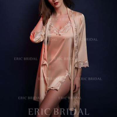 Lingerie Set Casual/Wedding/Special Occasion Bridal/Feminine/Fashion Lace/SilK Sexy Lingerie (041193223)