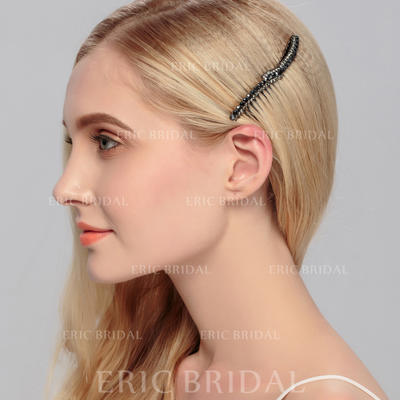 "Combs & Barrettes Wedding/Special Occasion/Outdoor/Party Rhinestone 3.58""(Approx.9.1cm) 1.89""(Approx.4.8cm) Headpieces (042156576)"