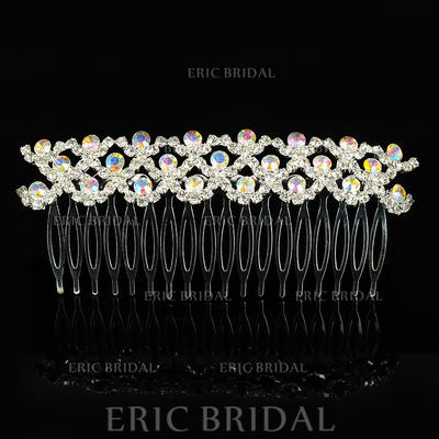 """Combs & Barrettes Wedding/Special Occasion Alloy 4.53""""(Approx.11.5cm) 1.97""""(Approx.5cm) Headpieces (042156352)"""
