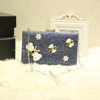 """Clutches Wedding/Ceremony & Party Alloy Delicate 7.87""""(Approx.20cm) Clutches & Evening Bags (012187144)"""