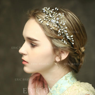 """Headbands Wedding/Special Occasion/Casual/Outdoor/Party Crystal 8.27""""(Approx.21cm) 2.95""""(Approx.7.5cm) Headpieces (042156633)"""