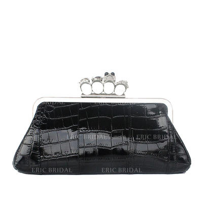 "Clutches Wedding/Ceremony & Party/Casual & Shopping PU Elegant 11.81""(Approx.30cm) Clutches & Evening Bags (012186105)"