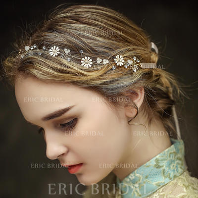 """Headbands Wedding/Special Occasion/Party/Art photography Crystal/Rhinestone 13.97""""(Approx.35.5cm) 0.59""""(Approx.1.5cm) Headpieces (042156614)"""