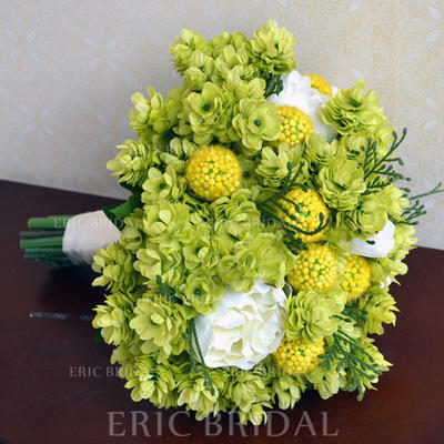 "Bridal Bouquets Free-Form Wedding Satin 8.66"" (Approx.22cm) Wedding Flowers (123190188)"