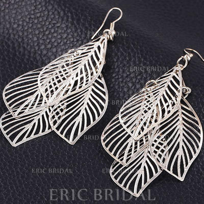 Earrings Alloy Pierced Ladies' Attractive Wedding & Party Jewelry (011166807)