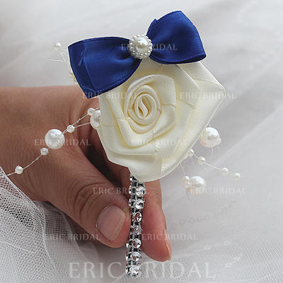 "Boutonniere Free-Form Wedding/Party Satin 1.97""(Approx.5cm) Wedding Flowers (123190130)"