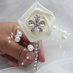 """Boutonniere Free-Form Wedding/Party Satin 1.97""""(Approx.5cm) Wedding Flowers"""