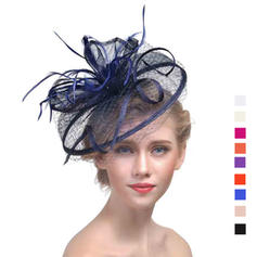 Cambric With Feather Fascinators Classic Ladies' Hats