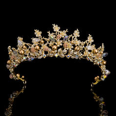 """Tiaras Wedding/Special Occasion/Party Rhinestone 14.57 """"(Approx.37cm) 1.97""""(Approx.5cm) Headpieces"""