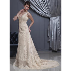 cheap lace western wedding dresses