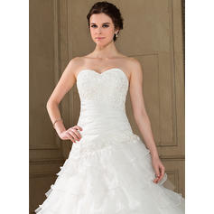 cheap long lace wedding dresses