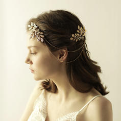 """Combs & Barrettes Wedding Alloy 10.24""""(Approx.26cm) 3.15""""(Approx.8cm) Headpieces"""