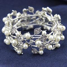 "Bracelets Alloy/Rhinestones/Imitation Pearls Ladies' Gorgeous 6.69""-8.27""(Approx.17cm-21cm) Wedding & Party Jewelry"
