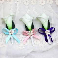 """Boutonniere/Men's Accessories Free-Form Wedding Ribbon 4.72""""(Approx.12cm) Wedding Flowers"""