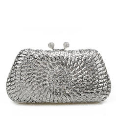Clutches/Bridal Purse/Luxury Clutches Wedding/Ceremony & Party Crystal/ Rhinestone Magnetic Closure Elegant Clutches & Evening Bags