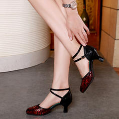 Women's Ballroom Leatherette Dance Shoes