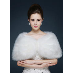 Wrap Fashion Faux Fur Other Colors Wraps