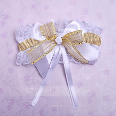 Garters Bridal Wedding/Special Occasion Lace With Bowknot Garter