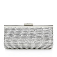 Clutches Wedding/Ceremony & Party PU Clip Closure Attractive Clutches & Evening Bags