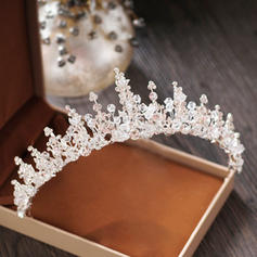 """Tiaras Wedding/Special Occasion/Party Crystal/Rhinestone/Alloy 2.17""""(Approx.5.5cm) 5.51""""(Approx.14cm) Headpieces"""