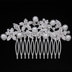 """Combs & Barrettes Wedding/Special Occasion/Party Alloy 3.74""""(Approx.9.5cm) 2.36""""(Approx.6cm) Headpieces"""