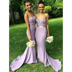 two tone color bridesmaid dresses