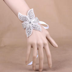 """Wrist Corsage Wedding/Party Satin 3.94"""" (Approx.10cm) The color of embellishments are shown as picture/The length of wrist corsage is adjustable Wedding Flowers"""