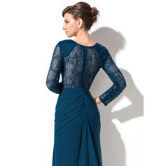drop waist evening dresses with sleeves