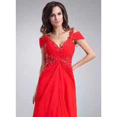 red taffeta evening dresses