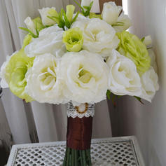 "Bridal Bouquets Free-Form Wedding Satin 9.84"" (Approx.25cm) Wedding Flowers"