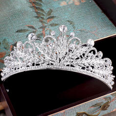"""Tiaras Wedding/Special Occasion/Party Rhinestone/Alloy/Imitation Pearls 1.97""""(Approx.5cm) 5.31""""(Approx.13.5cm) Headpieces"""