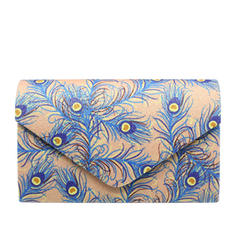 Clutches Ceremony & Party Patent Leather Magnetic Closure Elegant Clutches & Evening Bags
